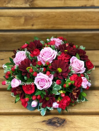 Red & Pink Posy
