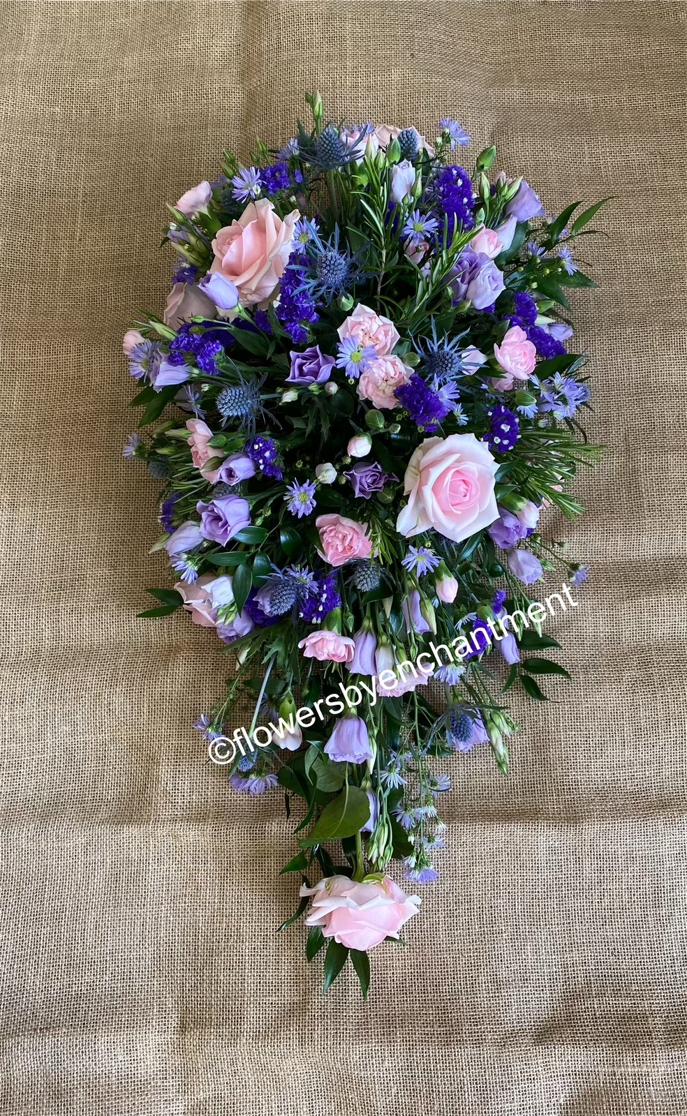 Pink , Lilac & Purple Single - Ended Spray