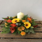 Warm Glow Arrangement